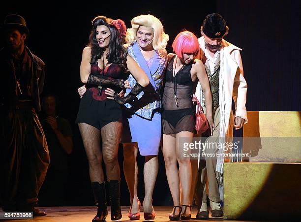 Pastora Vega attends the presentation of 'La asamblea de las mujeres' at La Latina theatre on August 23 2016 in Madrid Spain