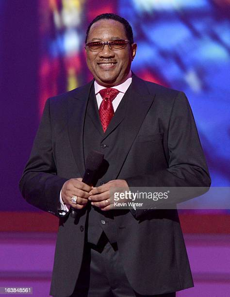 Pastor/singer Dr. Bobby Jones performs onstage during the BET Celebration of Gospel 2013 at Orpheum Theatre on March 16, 2013 in Los Angeles,...