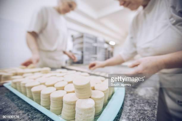 Pastry Chef Backen cookies
