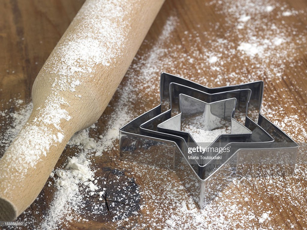 Pastry cutters : Stock Photo