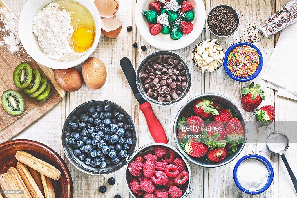 Pastry Ingredients : Stock Photo