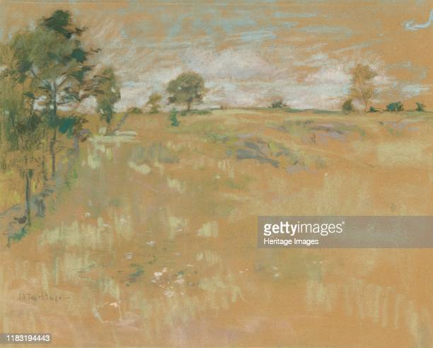 Pastures Greenwich Connecticut circa 18901900 In the mid1880s a group of American artists joined together to promote the expressive qualities of...