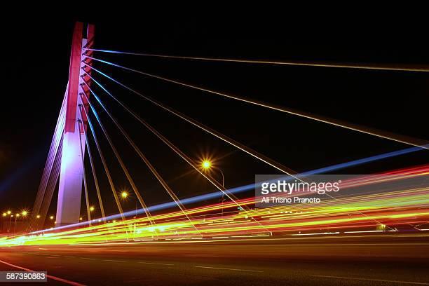 Pasupati Bridge in Bandung at night