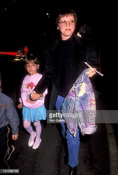 Pat Benatar and daughter Haley Giraldo at the Performance of Cirque du Soleil Santa Monica Pier Santa Monica