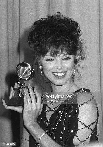 Pat Benatar at the 24nd Annual Grammy Awards Shrine Auditorium Los Angeles
