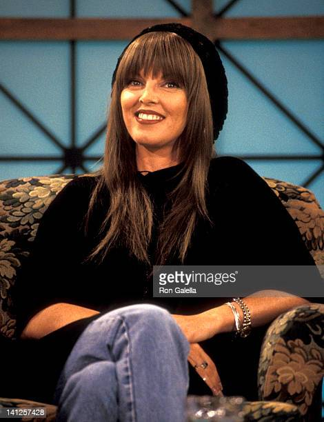 Pat Benatar at the Taping of 'The Joan Rivers Show' CBS Broadcast Center New York City