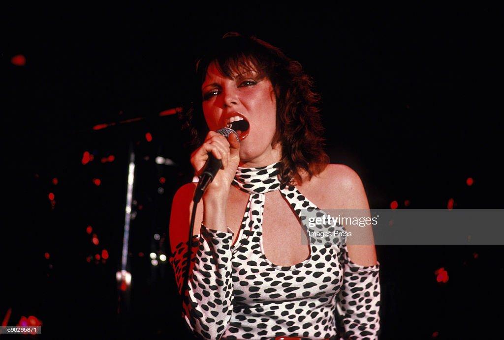 Pat Benatar in concert... : News Photo