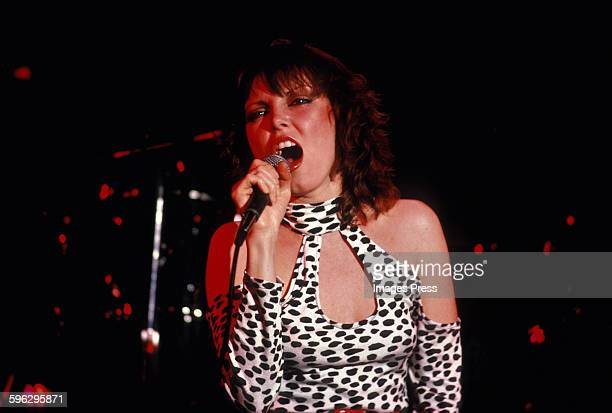 Pat Benatar in concert circa 1980 in New York City