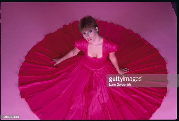 Pat Benatar in Red Evening Gown