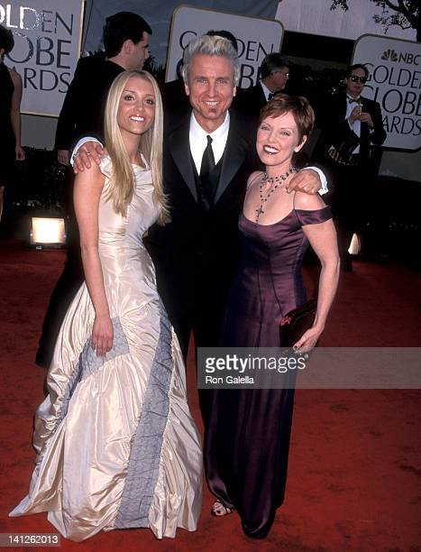 Pat Benatar Neil Giraldo and daughter Haley Giraldo at the 59th Annual Golden Globe Awards Beverly Hilton Hotel Beverly Hills