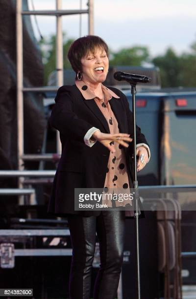 Pat Benatar performs at the 2017 Quick Chek New Jersey Festival Of Ballooning at Solberg Airport on July 29 2017 in Readington New Jersey