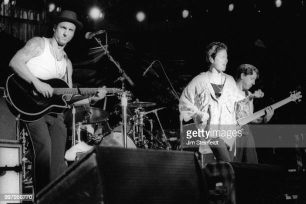 Pat Benatar performs at the Greek Theatre in Los Angeles California on September 12 1996