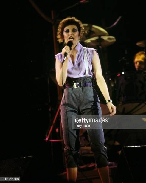 Pat Benatar performs at the US Festival in Devore California on September 22 1983