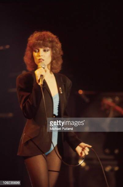 Pat Benatar performs on stage New York 1980