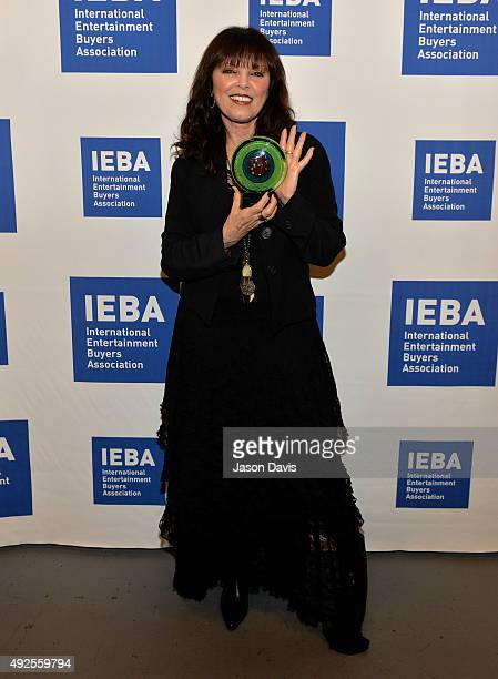 Pat Benatar poses backstage after being inducted into the IEBA Hall of Fame during the IEBA 2015 Conference Day 3 on October 13 2015 in Nashville...