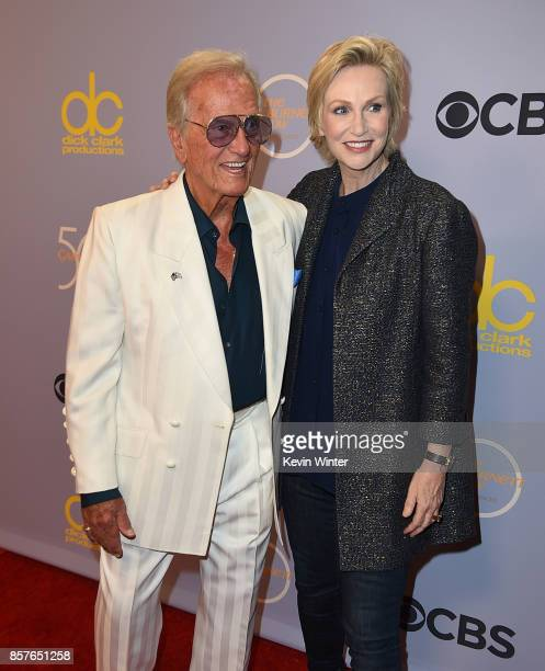 "Pat Boone and Jane Lynch attend CBS' ""The Carol Burnett Show 50th Anniversary Special"" at CBS Televison City on October 4, 2017 in Los Angeles,..."
