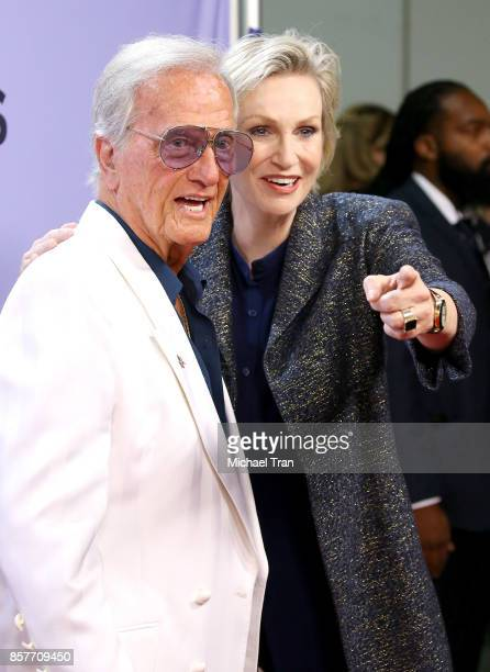 "Pat Boone and Jane Lynch attend ""The Carol Burnett Show - 50th Anniversary Special"" held at CBS Televison City on October 4, 2017 in Los Angeles,..."