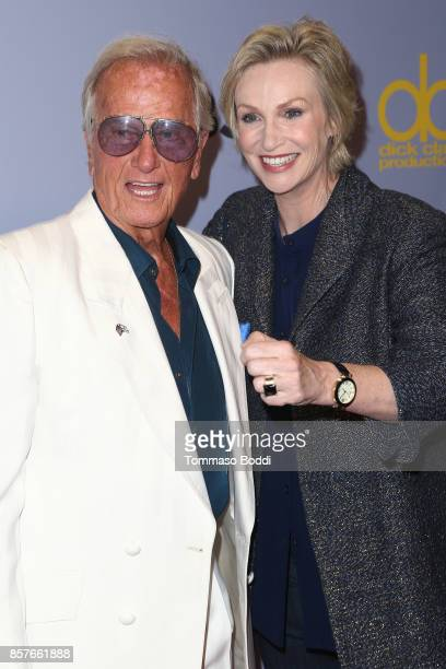 "Pat Boone and Jane Lynch attends the CBS' ""The Carol Burnett Show 50th Anniversary Special"" at CBS Televison City on October 4, 2017 in Los Angeles,..."