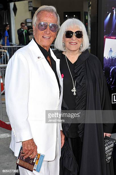 Pat Boone and Shirley Boone arrive at the Premiere Of Pure Flix Entertainment's 'Hillsong: Let Hope Rise' at Mann Village Theatre on September 13,...