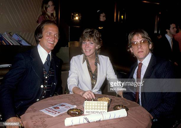 Pat Boone Debby Boone and Gabriel Ferrer attend St Jude Children's Hospital Benefit Party on May 28 1979 at Sybilis in New York City