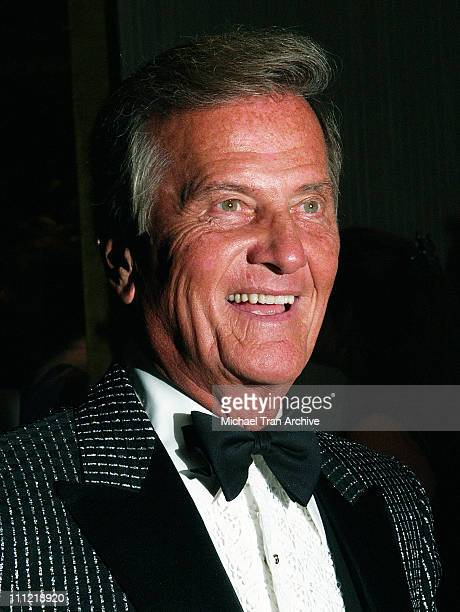 """Pat Boone during 14th Annual Movieguide """"Faith and Values"""" Awards Gala - Arrivals at Beverly Hilton in Beverly Hills, California, United States."""