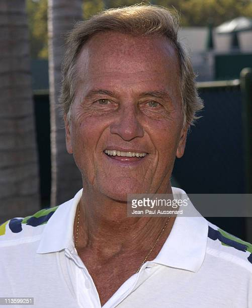 Pat Boone during 2nd Annual Merv Griffin Beverly Hills Country Club Celebrity Tennis Classic at Beverly Hills Country Club in Culver City,...