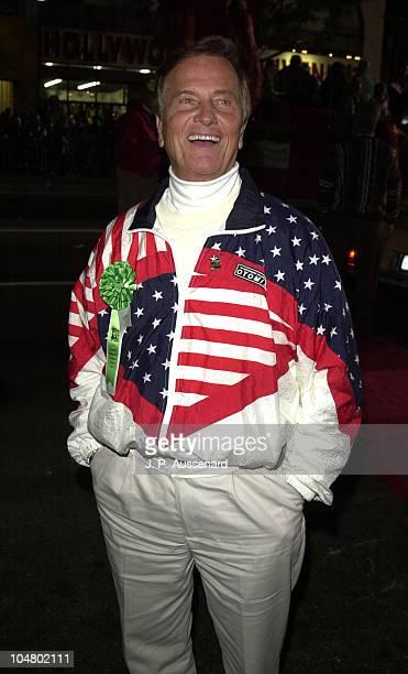 Pat Boone during 70th Hollywood Christmas Parade at Hollywood Boulevard in Hollywood, California, United States.