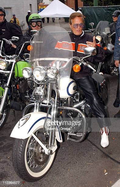 Pat Boone during The 20th Love Ride For MDA at Glendale Harley Davidson in Glendale, California, United States.