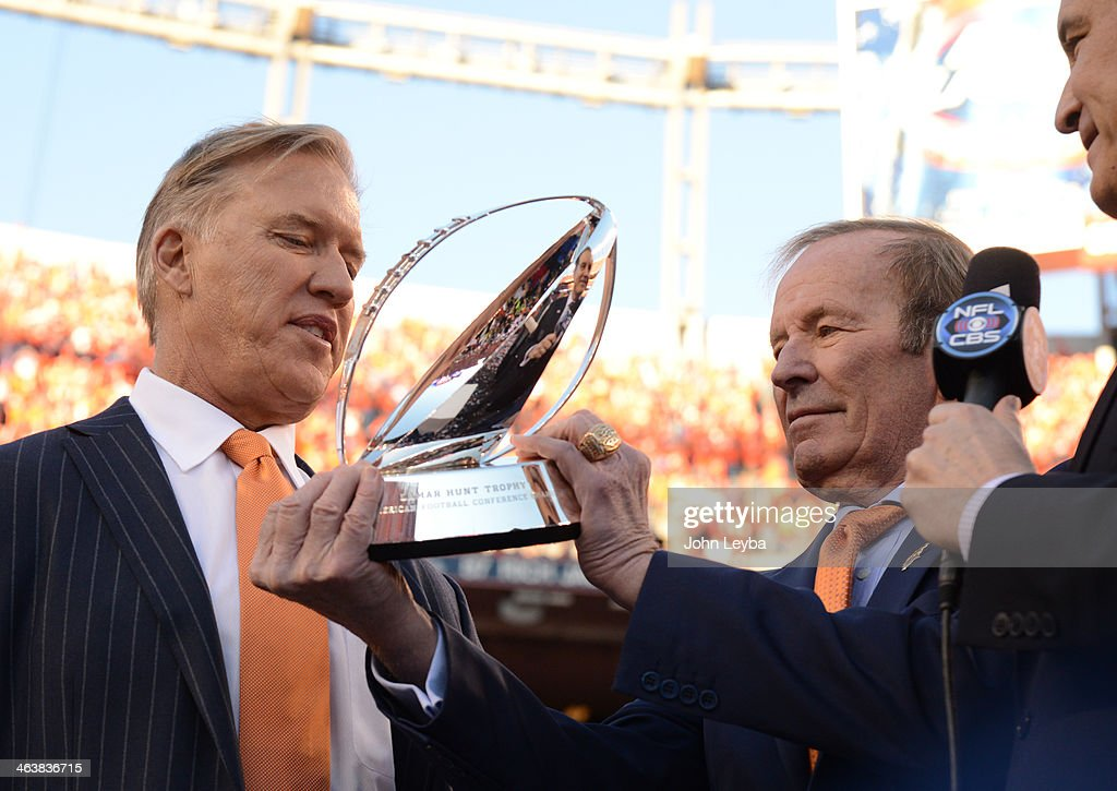 AFC Championship - New England Patriots v Denver Broncos : News Photo