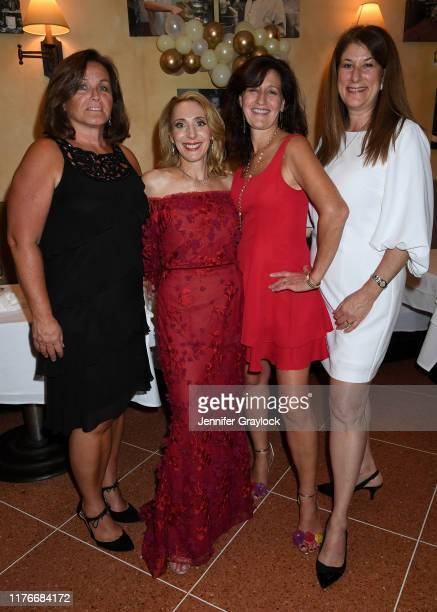Pat Brady Lisa Scognamillo Loretta Frankini and Dani Barro attend Patsy's Italian Restaurant's 75th Anniversary Diamond Gala Presented by the...