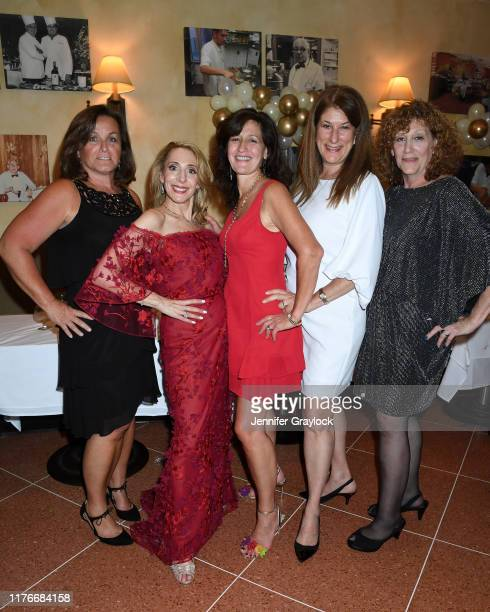 Pat Brady Lisa Scognamillo Loretta Frankini Dani Barro and Eve Dwoskin attend Patsy's Italian Restaurant's 75th Anniversary Diamond Gala Presented by...