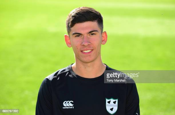 Pat Brown of Worcestershire Academy during the Worcestershire County Cricket photocall held at New Road on April 6 2017 in Worcester England