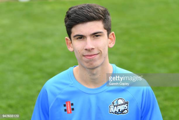 Pat Brown of Worcestershire poses for a portrait during the Worcestershire CCC Photocall at New Road on April 6 2018 in Worcester England
