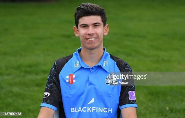 Pat Brown pictured during the Worcestershire County Cricket Photocall at New Road on March 22 2019 in Worcester England