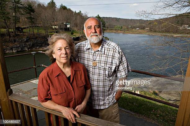 Pat Carullo, co-founder of Damascus Citizens for Sustainability, right, and Barbara Arrindell, director of the group, stand for a portrait on the...