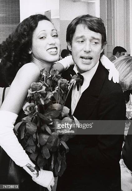 Pat Cleveland and Halston at the Halston's Studio in New York City, New York