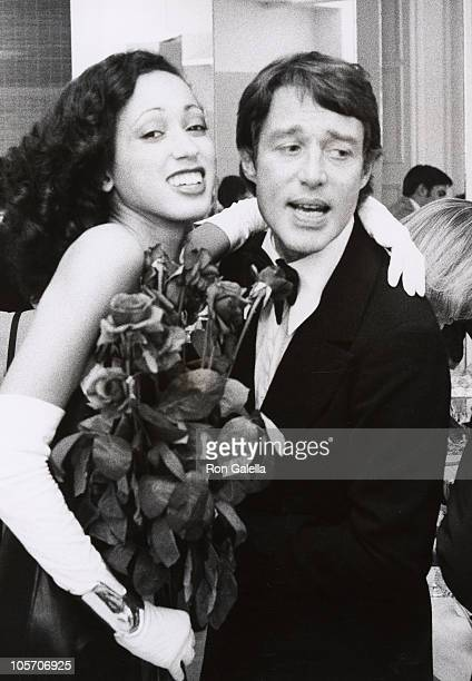 Pat Cleveland and Halston during Party following the Coty Awards at Halston's Studio in New York City, New York, United States.