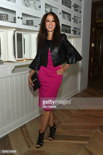 Pat Cleveland attends The Cinema Society and Chopard sreening of Oscilloscope's 'ma ma' After Party at Cafe Medi on May 24 2016 in New York City
