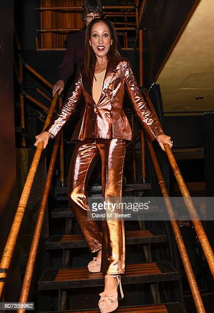 Pat Cleveland attends the launch of model Pat Cleveland's new book Walking With The Muses at Blakes Below on September 17 2016 in London United...