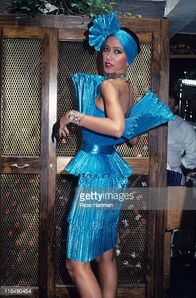 Pat Clevland during Marc Bouwer Fashion Show - 1982 in New York City, New York, United States.