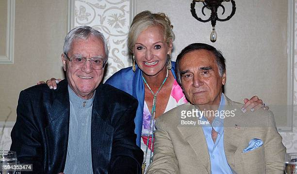 Pat Cooper Ann Liguori and Tony Lo Bianco attend the 2016 Lucas Foundation Golf And Dinner Awards at Brooklake Country Club on August 22 2016 in...