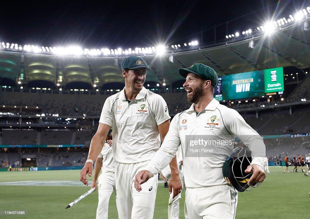Australia v New Zealand - 1st Test: Day 4 : ニュース写真