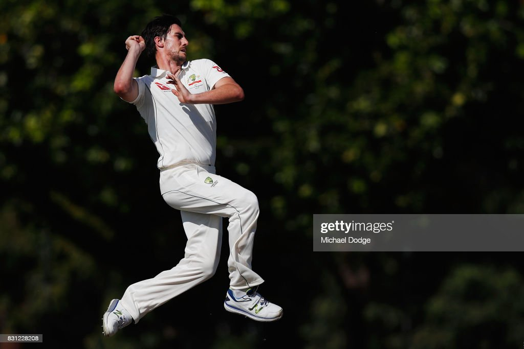 Australian Cricket Three Day Match: Day 1 : News Photo