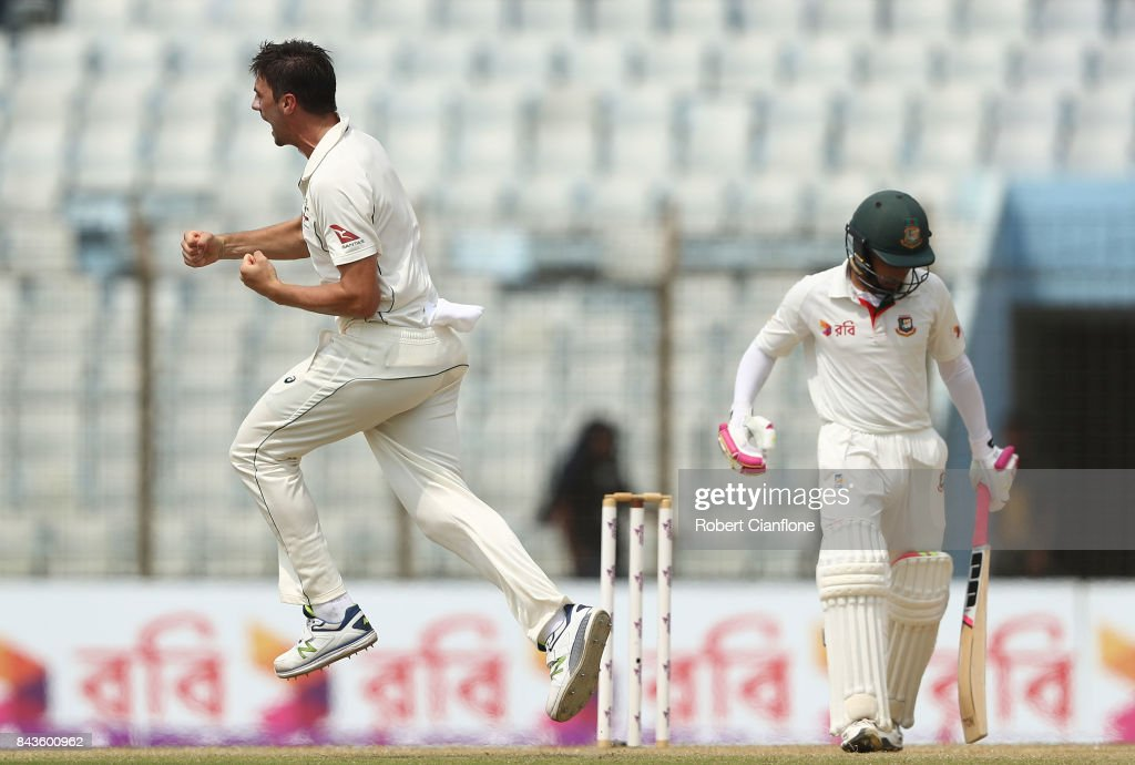 Bangladesh v Australia - 2nd Test: Day 4