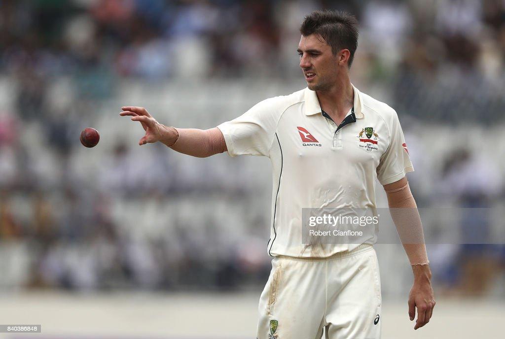 Bangladesh v Australia - 1st Test: Day 3 : News Photo