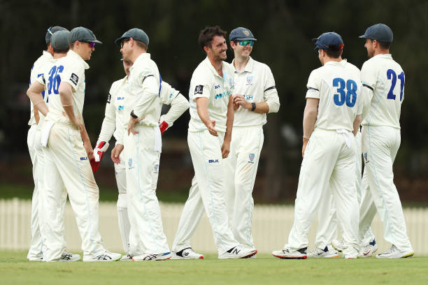 AUS: Sheffield Shield - VIC v NSW: Day 1