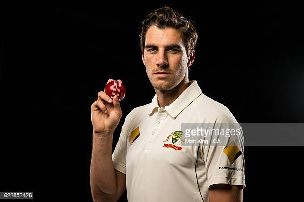 Pat Cummins poses during the 2016 Cricket Australia Player Camp at Sydney Cricket Ground on September 14 2016 in Sydney Australia