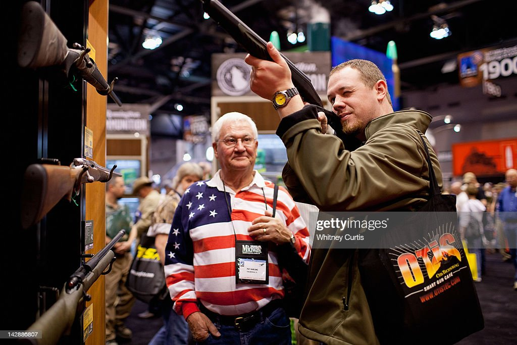 National Rifle Association Holds Annual Meeting In St. Louis : News Photo