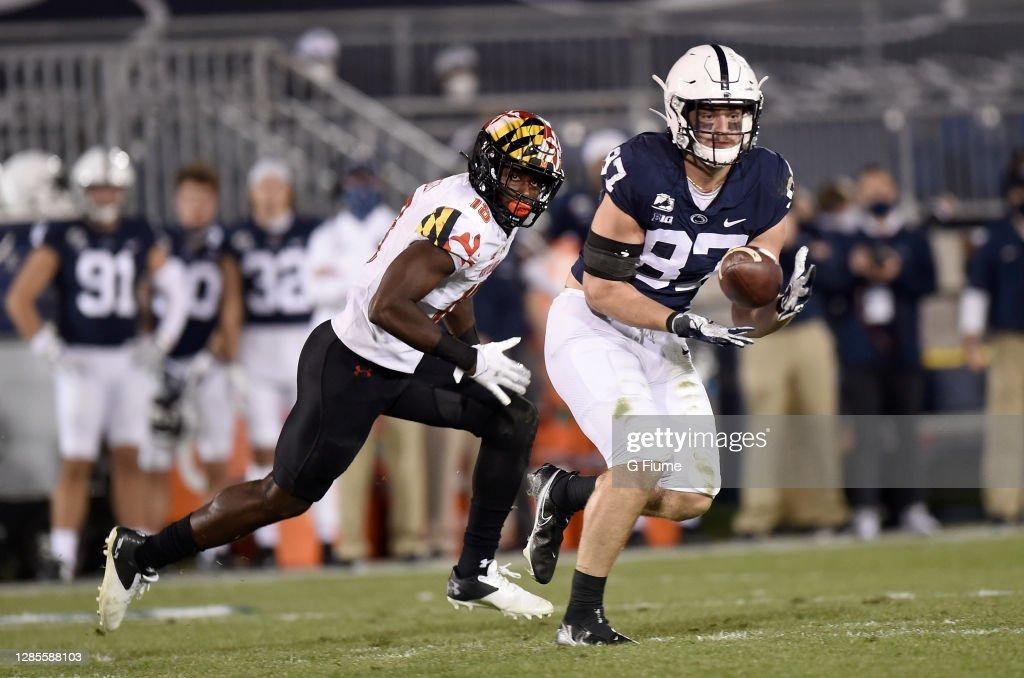 Maryland v Penn State : News Photo