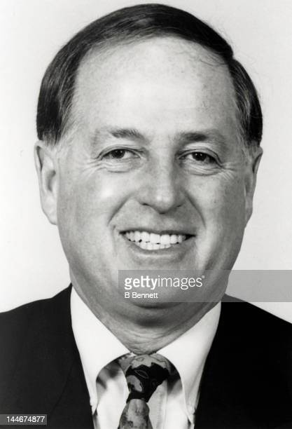 Pat Gillick of the Toronto Blue Jays poses for a portrait circa 1992 in Toronto Ontario Canada